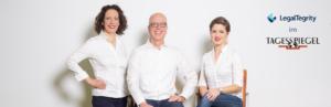 LegalTegrity Gründer Michel Altenbach Fistanic im Tagesspiegel