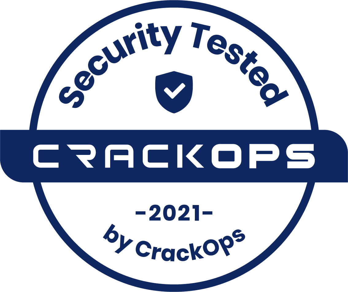 Tested by CrackOps, Secure Software